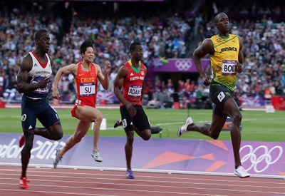 Usain Bolt oggi correrà i 200 metri (Infophoto)