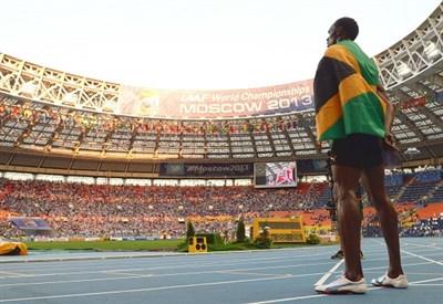 Usain Bolt, 29 anni (Infophoto)