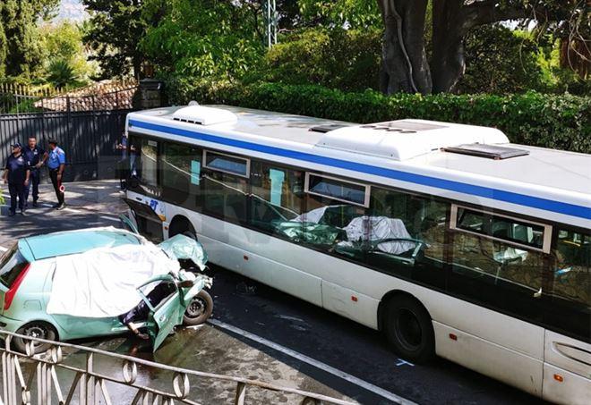 Incidente mortale oggi a Bordighera