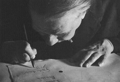 Jorge Luis Borges (1889-1986) (Foto Alicia D'Amico - Wikipedia)