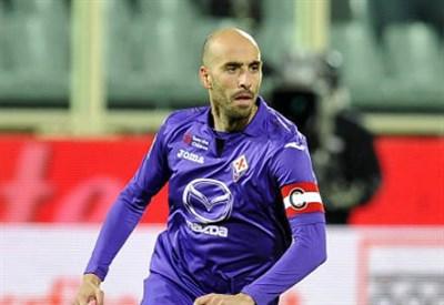 Borja Valero, 29 anni, centrocampista spagnolo della Fiorentina (INFOPHOTO)