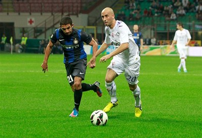 Inter-Fiorentina della passata stagione (Infophoto)