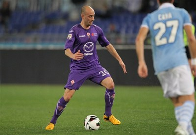 Borja Valero, centrocampista Fiorentina (Infophoto)