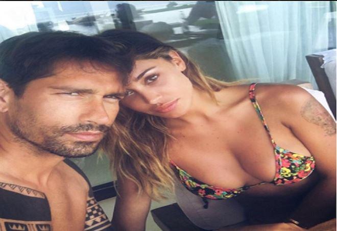 Marco Borriello e Cristina Buccino amore a Ibiza?