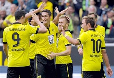 Borussia Dortmund (Fonte Infophoto)