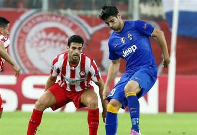 Pagelle/ Olympiacos-Juventus 1-0: i voti della partita (Champions League, gruppo A)