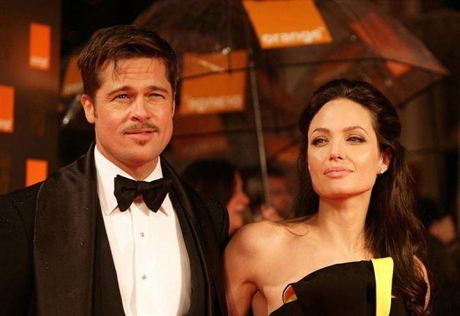 Brad Pitt e Angelina Jolie ai tempi del