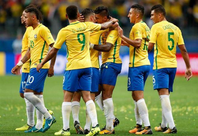 Probabili formazioni Inghilterra Brasile - LaPresse