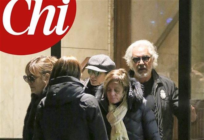Elisabetta Gregoraci e Flavio Briatore (Foto: da Chi)