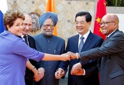 I primi ministri dei Brics (Infophoto)
