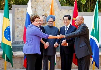I ministri dei BRICS (Foto: Infophoto)