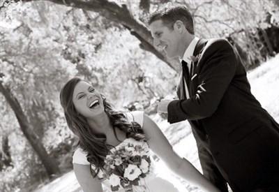 Brittany Maynard in abito da sposa (Dal sito di Brittany Maynard)