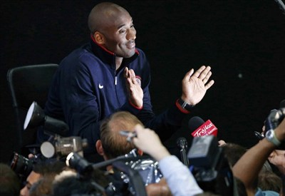 Kobe Bryant, 34 anni, cestista americano dei Los Angeles Lakers (INFOPHOTO)