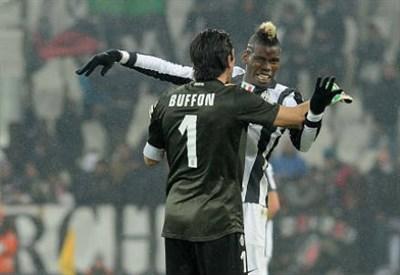 Buffon e Pogba - InfoPhoto