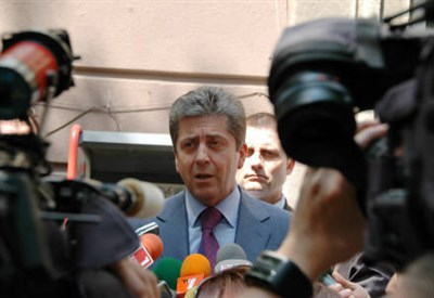 Il presidente bulgaro Georgi Parvanov