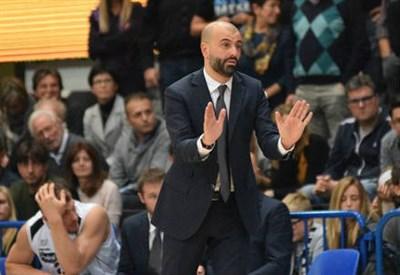 Coach Buscaglia di Trento (Infophoto)