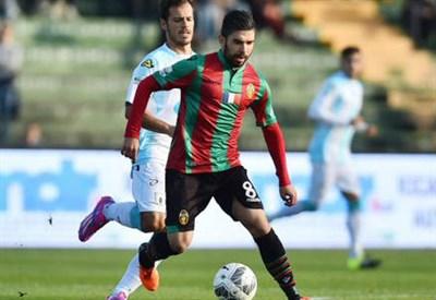 Massimiliano Busellato, 22 anni, centrocampista della Ternana (dall'account Twitter @TernanaOfficial)