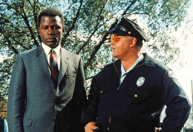 Una scena del film La calda notte dell'ispettore Tibbs