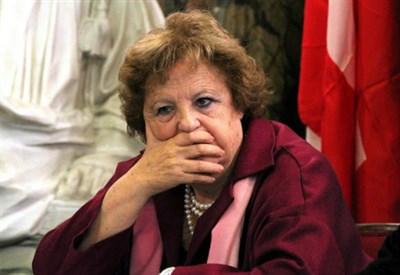 Il ministro della Giustizia Annamaria Cancellieri (Infophoto)