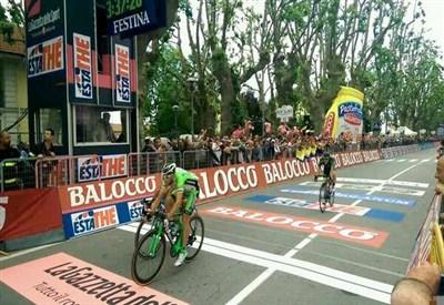 Marco Canola vince a Rivarolo Canavese (da Facebook)
