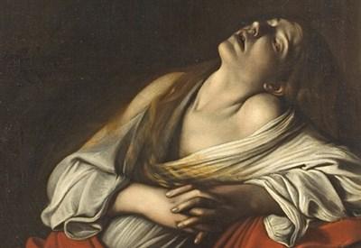 Caravaggio, Maddalena in estasi (1610)