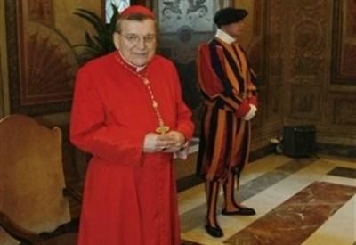 Il Prefetto del Supremo Tribunale della Segnatura Apostolica, il cardinale Burke