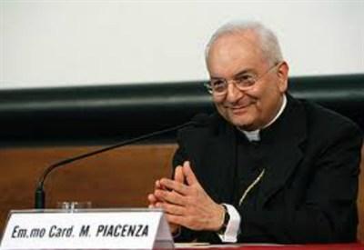 Il Prefetto della Congregazione per il Clero, cardinale Mauro Piacenza