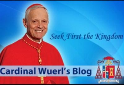 Il blog del cardinal Wuerl, arcivescovo di Washington