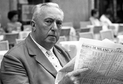 Carlo Emilio Gadda (1893-1973) (Foto dal web)