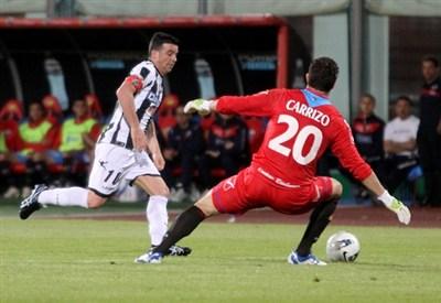 Antonio Di Natale, 150 gol in serie A con l'Udinese (Infophoto)