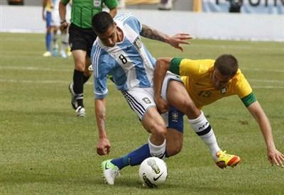 Carlos Henrique Casemiro, 20 anni, centrocampista del San Paolo (INFOPHOTO)