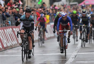 Mark Cavendish vince ieri a Treviso