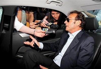 Massimo Cellino, presidente Cagliari (Foto Infophoto)