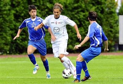 Alessio Cerci ai tempi della Fiorentina: per lui gol dell'ex (Infophoto)