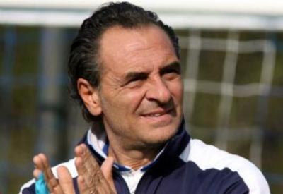 Cesare Prandelli, allenatore dell'Italia, foto Infophoto