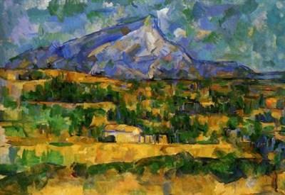 Paul Cezanne, Monte Sainre-Victoire, particolare (1906) (Immagine dal web)