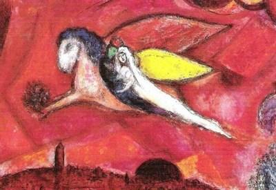 M. Chagall, Cantico dei cantici, particolare (Foto dal web)