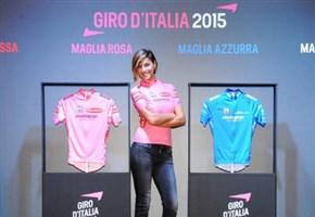 Giro d'Italia 2015/ Foto news, le maglie della Corsa rosa: Cristina Chiabotto madrina