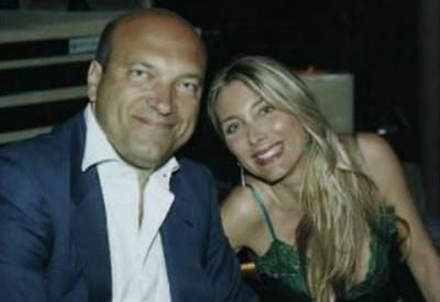 Chiara Rizzo con il marito