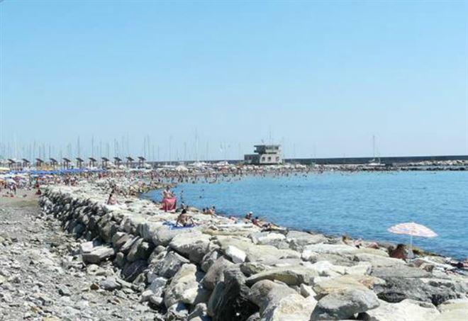 Spiaggia a Chiavari
