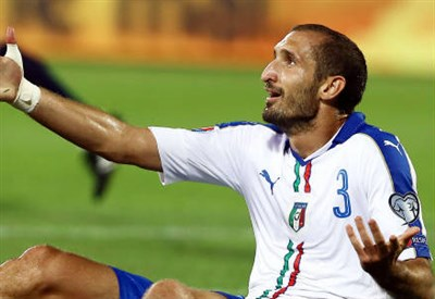 Giorgio Chiellini, 31 anni (INFOPHOTO)