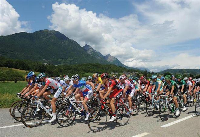 Diretta Tour de France (LaPresse) - immagine di repertorio