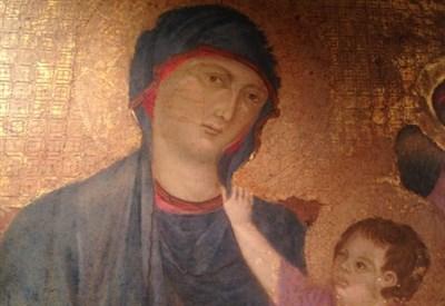 Cimabue, Madonna dei Servi (seconda metà del XIII sec.)