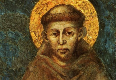 Cimabue, san Francesco (Assisi, basilica inferiore)