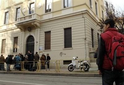 Una scuola italiana (Infophoto)