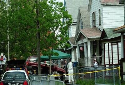 Cleveland, la casa di Ariel Castro (Infophoto)