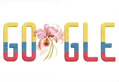 Il logo di Google per la Colombia