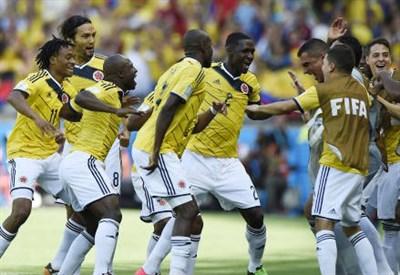 Pagelle Colombia Uruguay