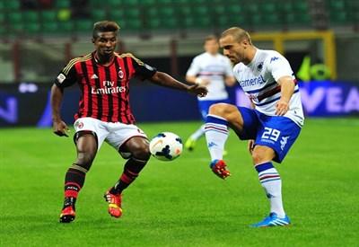 De Silvestri, terzino Sampdoria (Infophoto)