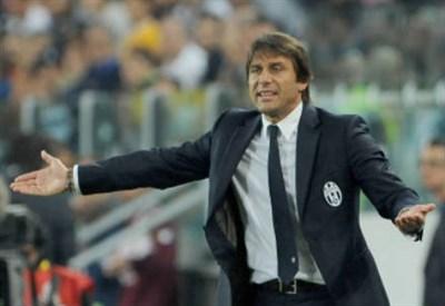 Antonio Conte, 44 anni, allenatore della Juventus (INFOPHOTO)